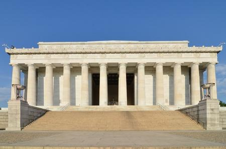 lincoln: Lincoln Memorial, Washington DC USA Stock Photo