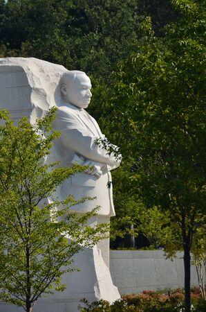 Martin Luther King Jr. Memorial in Washington DC USA photo