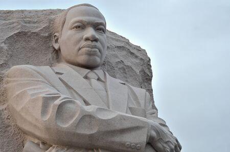 dc: Martin Luther King Monumento a Washington DC, Stati Uniti - primo piano