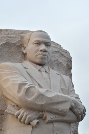 Martin Luther King Monument in Washington DC, USA - Close-up