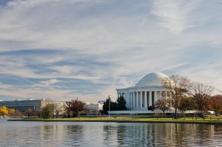 thomas: Thomas Jefferson Memorial - Washington DC United States  Editorial