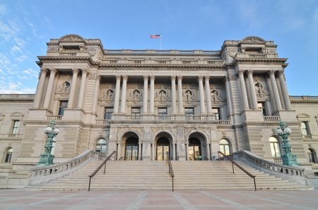 public library:  The Library of Congress in Washington, DC
