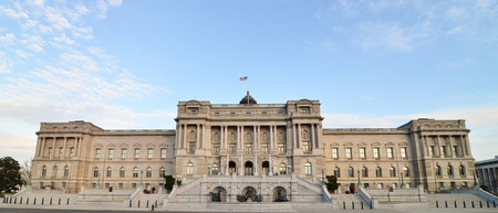 public library:  The Library of Congress in Washington, DC Stock Photo