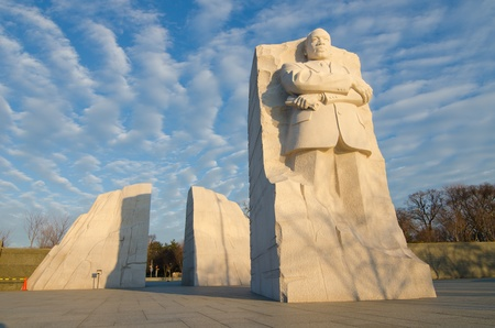 Martin Luther King Monument in Washington DC, USA photo