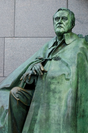 delano: Franklin Delano Roosevelt Memorial in Washington DC  Stock Photo
