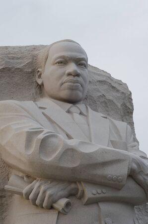 Martin Luther King Monument in Washington DC, USA photo