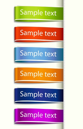 Fabric Tag Label Vector
