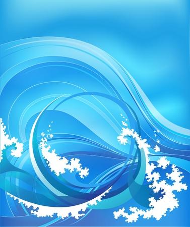 resumen de antecedentes con las olas del mar