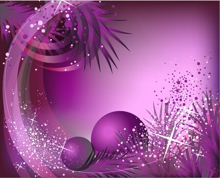 beautiful vector new year and chritsmas illustration Vector