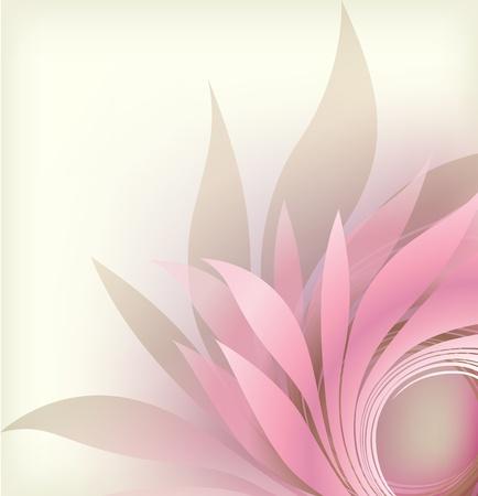 groviglio: sfondo astratto con petalo