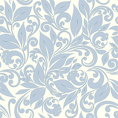 composition: seamless floral background