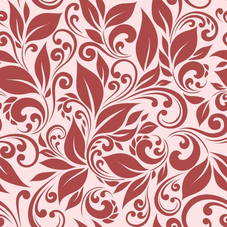 seamless floral background Imagens - 12422969