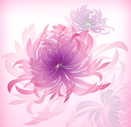 abstract background with petal Stock Vector - 12480529