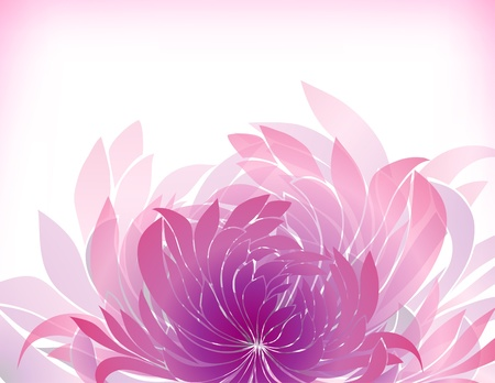 abstract background with petal Stock Vector - 12480527