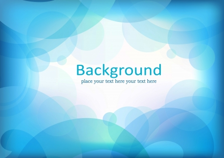 Abstract background with blue elements Vector