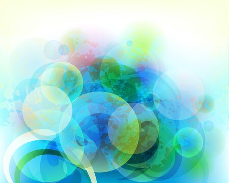 vector background with air spheres