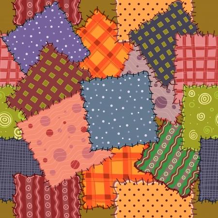 manta de retalhos: perfeita de tecidos retalhos coloridos