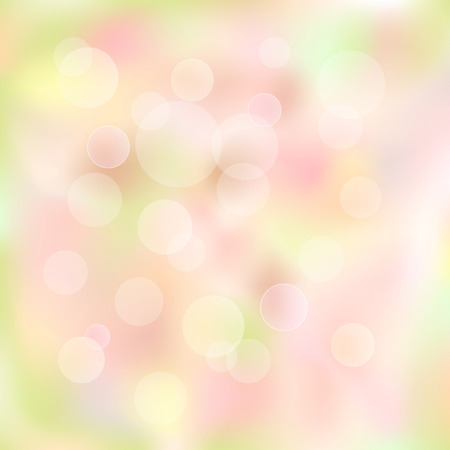 Magical background with bright bokeh Vector