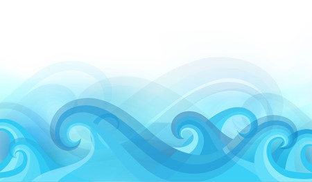 moving in: abstract background with stylized waves