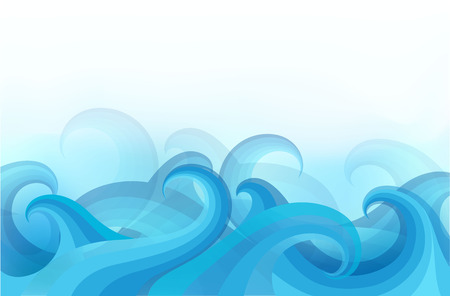 no movement: abstract background with stylized waves