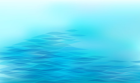Abstract background with stylized wave Ilustrace