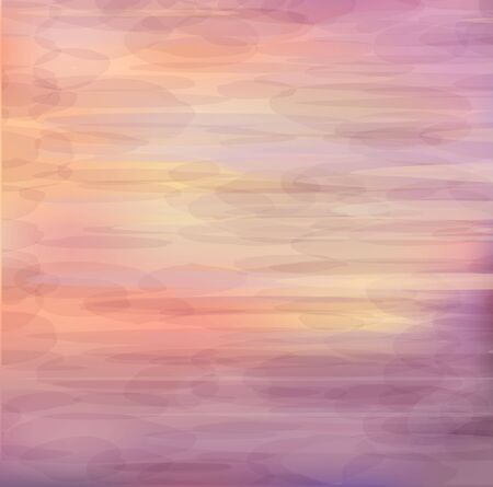 horizons: Beautiful abstract background - sunrise on the sea
