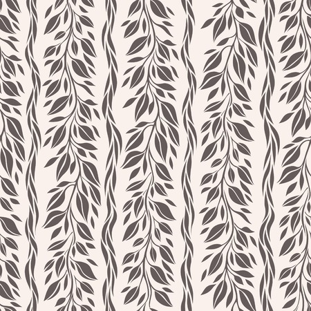 Stylized curl in graphic style, seamless pattern