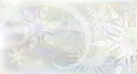 hristmas: Beautiful, magic C hristmas background with light snowflakes