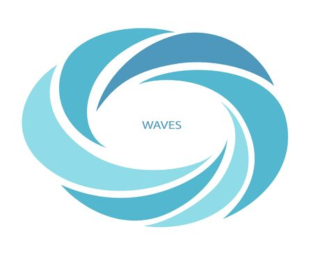 Water Wave  abstract design.