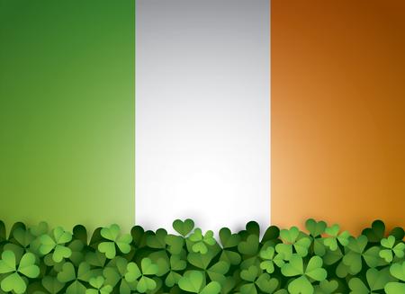 Saint Patrick's Day background design.