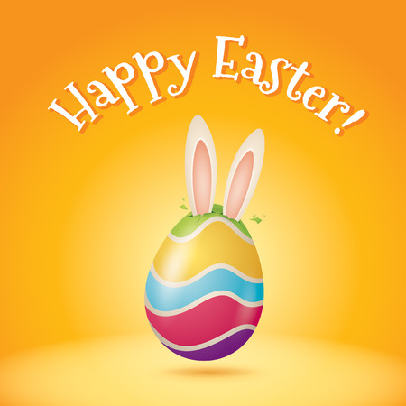 Happy Easter! Easter bunny coming put soon!