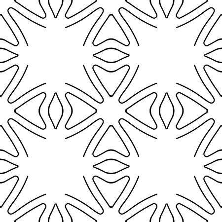 Motif art déco géométrique sans couture. Texture ornementale vintage pour la conception Vecteurs