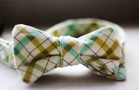 period costume: Stylish business tie for business meetings Stock Photo