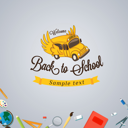applicant: Welcome back to school. Illustration