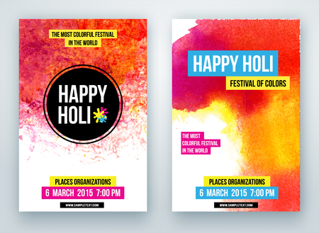 gulal: Beautiful Indian festival Happy Holi celebrations. Background for banner, card, poster.
