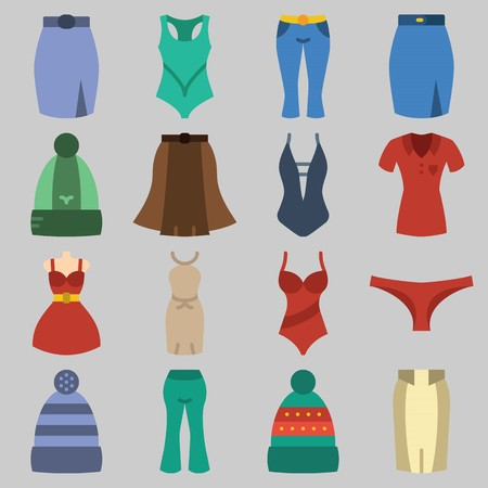 Girls panties under dress skirt