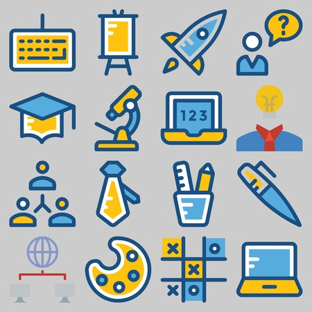 icons set about School And Education . [keywordRandom:3]