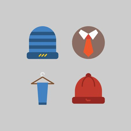 icon set about Man - Clothing