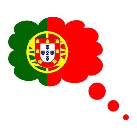 Portugal flag icon.