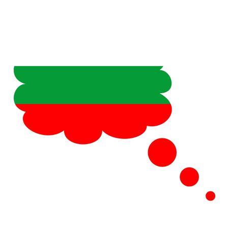 Flag of Bulgaria icon.