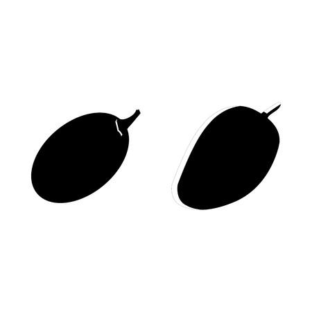 icon Obst und Gemüse mit Vitaminen, Vitaminen, Zitrusfrüchten, Obst