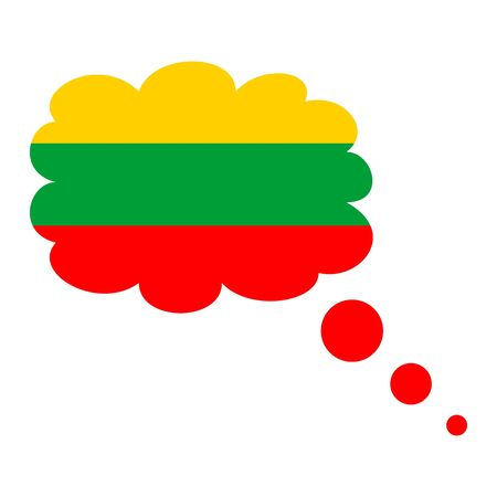 Flag of Lithuania icon.