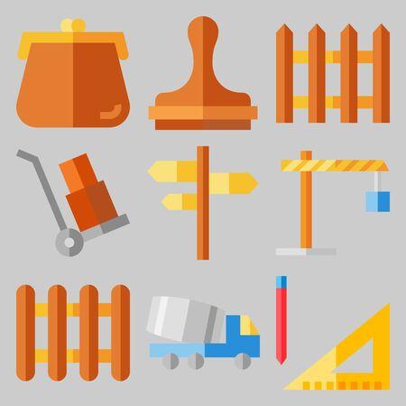 icons set about Real Assets . [keywordRandom:3] Illustration