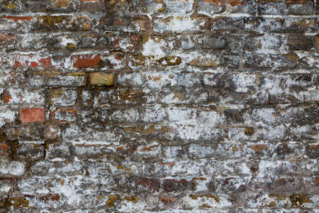old brick wall: Old weathered brick wall texture for backgrounds