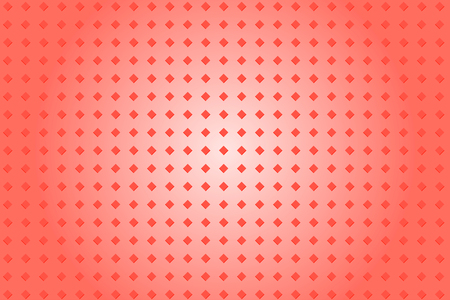 Red rose abstract background with bright pattern rhombuses, color gradient Çizim