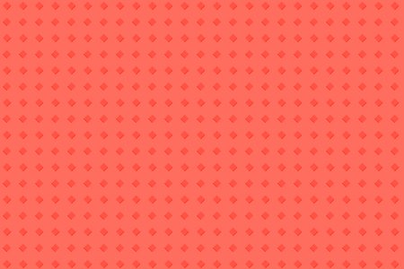 Red rose abstract background with bright pattern rhombuses Çizim