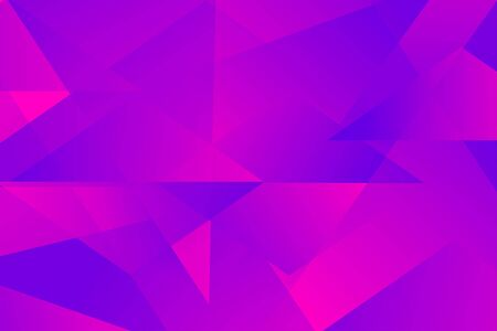 abstract luminous geometric pink and purple triangle overlay vector background Çizim