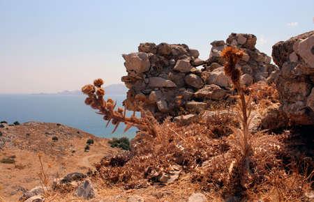 island: Rhodes Island Stock Photo