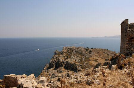 rhodes: Rhodes Island Stock Photo