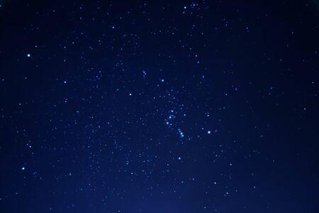 astrologie: Echte Stars in den Nachthimmel Lizenzfreie Bilder